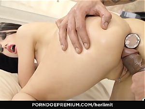 HER restrict - raunchy anal and face plow with Sasha Rose