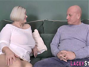 breast fucking british grandmother