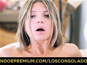 LOS CONSOLADORES - Russian Gina Gerson nailed in FFM