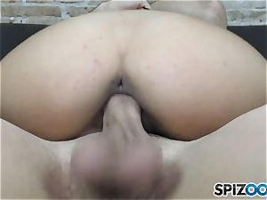 Penelope jism smashed and creamed on her uber-cute face