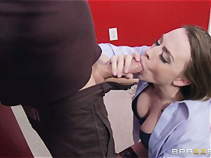 Married female Chanel Preston gets titfucked and her honeypot nailing by thief