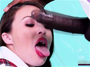 HARMONY VISION bi-racial anal invasion Tiffany nymph