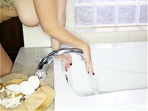 Alison Tyler touches herself