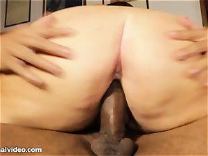 large female blow black stiffy