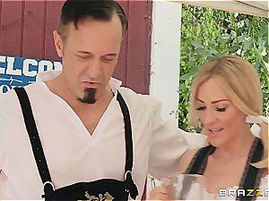 Keiran Lee on a trip for edible German cunt