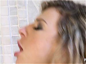 stellar Kristi dancing the ass fucking tango