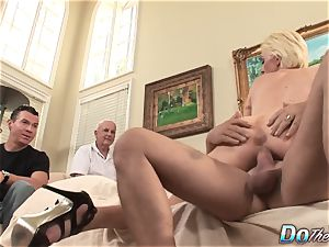 hubby observes wife Kasey Grant buggered