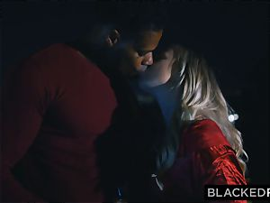 BLACKEDRAW bf with hotwife dream shares his blond girlfriend