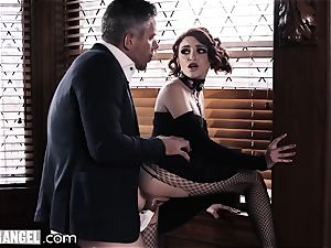 emo wanking In Detention is rectally punished