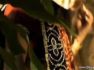 sensual pleasures From yummy Indian mummy