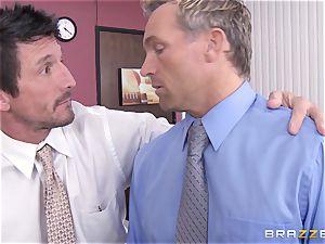 blond assistant Kagney Linn Karter tearing up her wild fucking partner