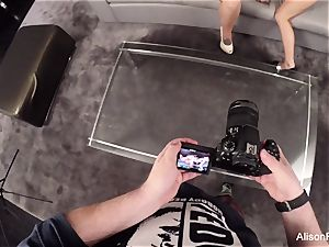 GoPro behind the scenes footage with Alison Tyler