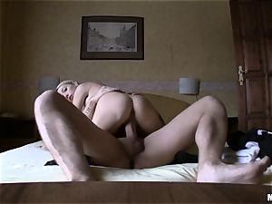 Slovakian dream honey Miriama Kunkelova railing man-meat