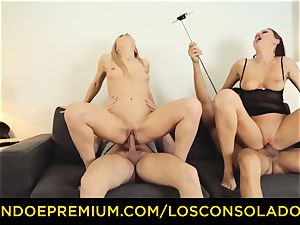 LOS CONSOLADORES - Hungarian blond gets torn up point of view