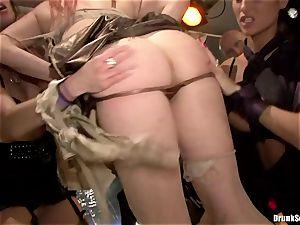 Carla Cox, Tarra milky and Nessa satan fuck-a-thon lovemaking stiff