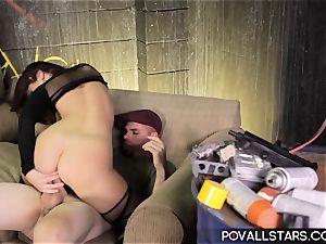 POVAllstars Jayden Jaymes Wants to deep-throat and romps!