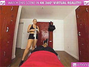 VRBangers.com warm honey sweaty pummeling Her Boxing Coach