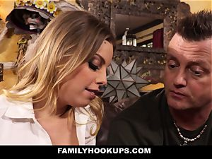 FamilyHookUps - towheaded stunner bangs Her Brother-In-Law