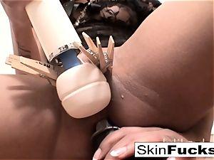 highly nasty fuckbox play with flesh Diamond