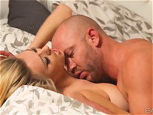 Natalia Starr enjoys every inch of her mans firm manhood