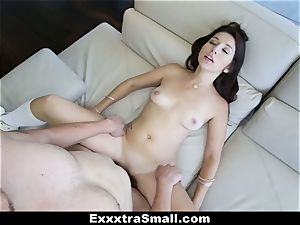 ExxxtraSmall - puny Ariana Grand Gets spread!