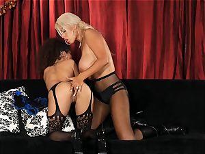 Bridgette B puts torrid secretary Lana Lovelace through her paces
