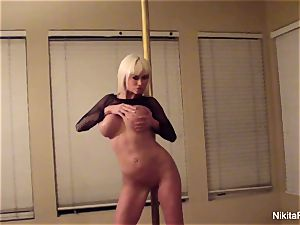 Nikita gives you a private erotic dance & a point of view oral job