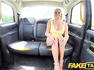 faux taxi big bosoms blonde Michelle Thorne