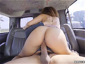 mischievous honey picked up and fucked