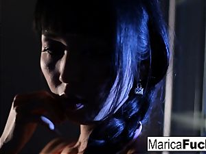 japanese adult movie star Marica gets nude