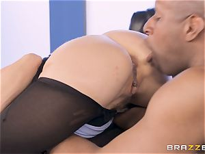 Alexis Fawx penetrated by enormous big black cock