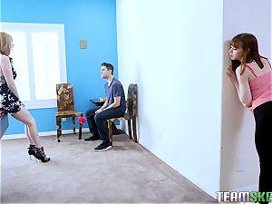 Alexa shares her BFs dick with her stepmom Lauren Philips