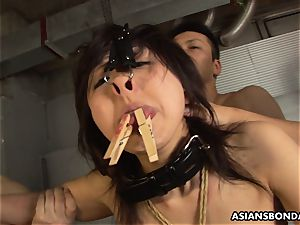 She never had a bondage & discipline session like this before