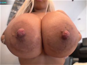 watch Bridgette B thick breasts in action