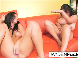 Jayden Jaymes And Sheridan enjoy