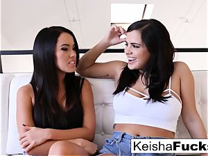Keisha and Megan keep it in the family