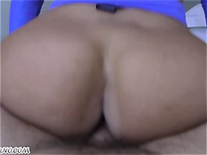 huge-titted superslut seduced a married boy in her room