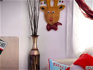 Spizoo - watch Jessica Jaymes boning Santa Claus
