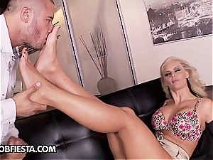 sole fetish with Phoenix Marie